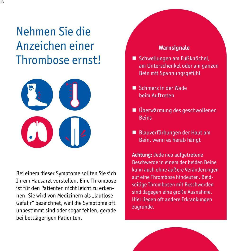 thrombose und lungenembolie venen