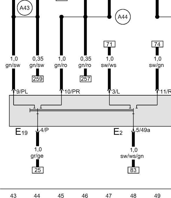 Stromlaufplan Opel Vivaro