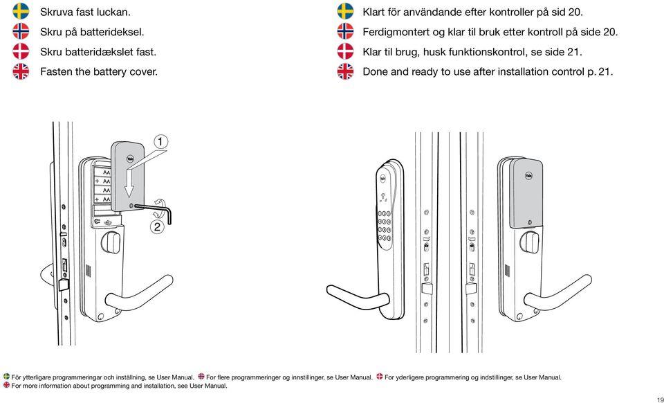 V 2.2. Digital Door Lock Multi Point. Installation Guide
