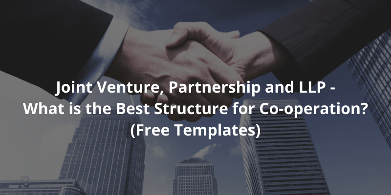 This template might be used by a small business (or professional services firm) requiring a simple llp structure. What Is The Best Type Of Cooperation Agreement Partnership Or Joint Venture With Templates Docpro