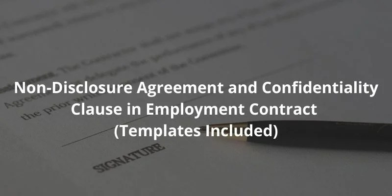 """And _________________ (collectively referred to as the """"parties""""), as of the date executed by the company (the """"effective date""""). Non Disclosure Agreement And Confidentiality Clause In Employment Contract Templates Included Docpro"""