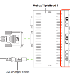 connect the outputs from each matrox device into the input ports of the corresponding display unit  [ 1384 x 813 Pixel ]