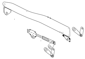 Offset components from the layout plane