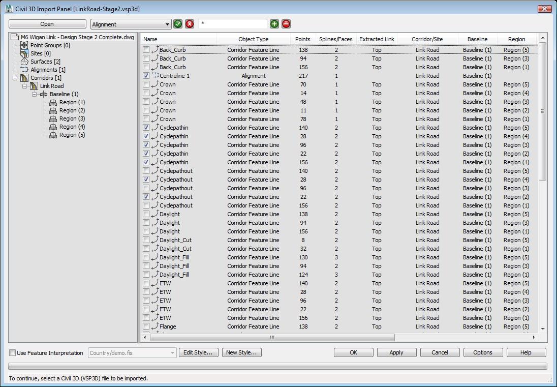 Importing VSP3D Files