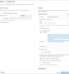 creating amazon cloudwatch events rules [ 910 x 920 Pixel ]