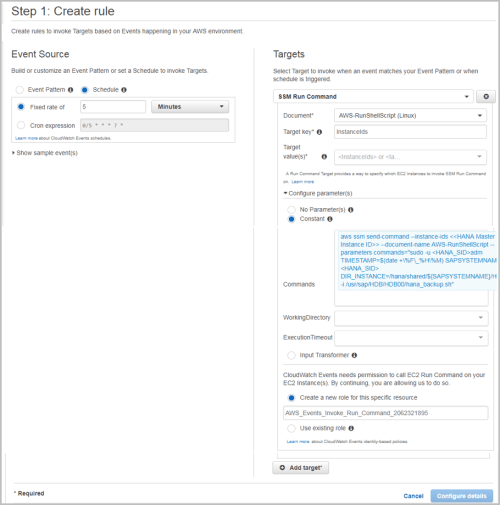 small resolution of creating amazon cloudwatch events rules