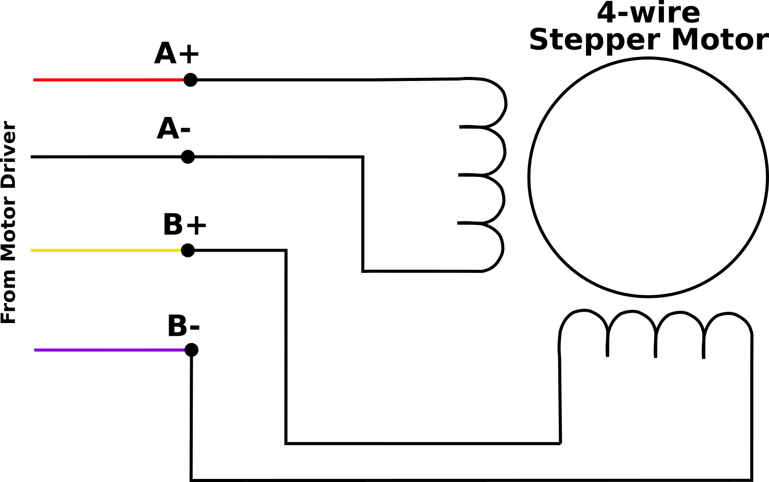 hight resolution of 4wire motor wiring png
