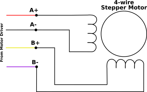 small resolution of 4wire motor wiring png