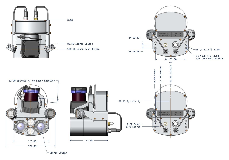 MultiSense SL Manual : ROS Driver