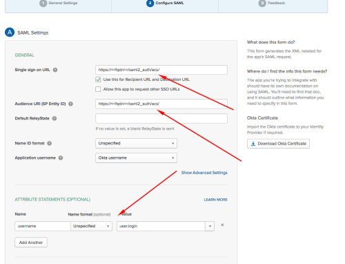 small resolution of open your application settings go to the sign on tab and copy url from identity provider metadata link this will be used as the metadata url in