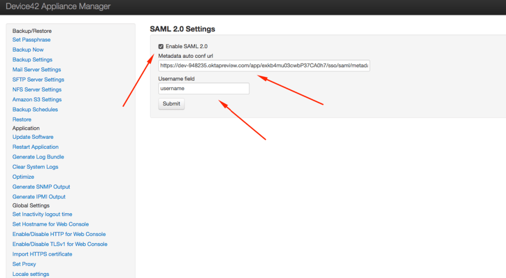 medium resolution of set the username field to match the value you saved in the saml configuration