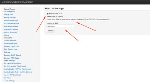 small resolution of set the username field to match the value you saved in the saml configuration