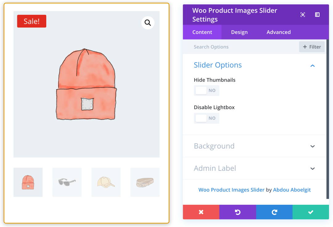 Woo Product Images Slider Module - Documentation | Divi Kingdom