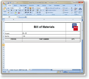 (2) a plastic or paper diagram that you can put on your keyboard to indicate the meani. Bom To Microsoft Excel Driveworks Documentation