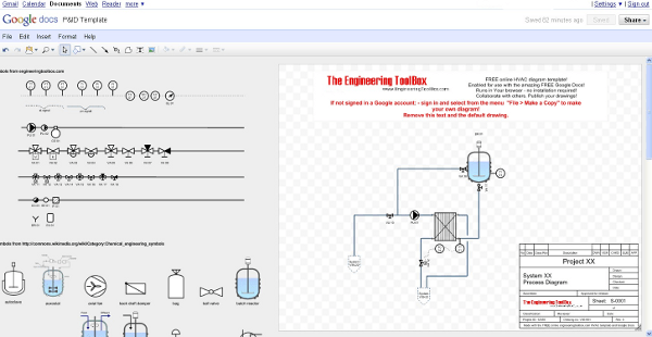 P&ID Diagram Online Drawing Tool