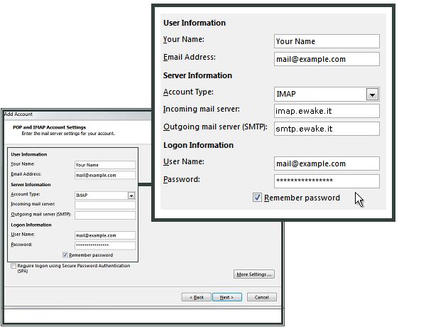 Microsoft Outlook 2013 — Supporto EWake 0.1.0 documentazione