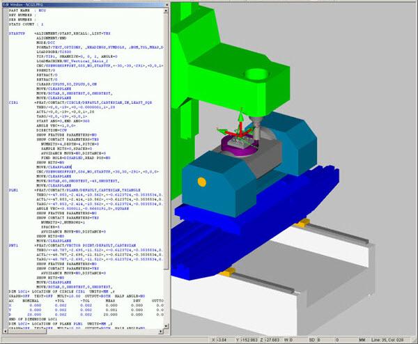PC-DMIS 對堆疊式旋轉臺的支援