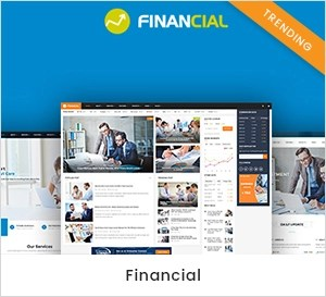 Financial - Business and Financial WordPress Theme