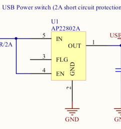 which provides an over load current protection when the current reaches 2a limits the current to 1a until the short circuit state is resolved  [ 1222 x 654 Pixel ]