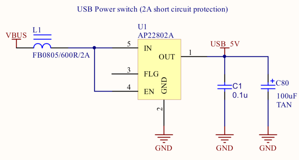 medium resolution of  which provides an over load current protection when the current reaches 2a limits the current to 1a until the short circuit state is resolved