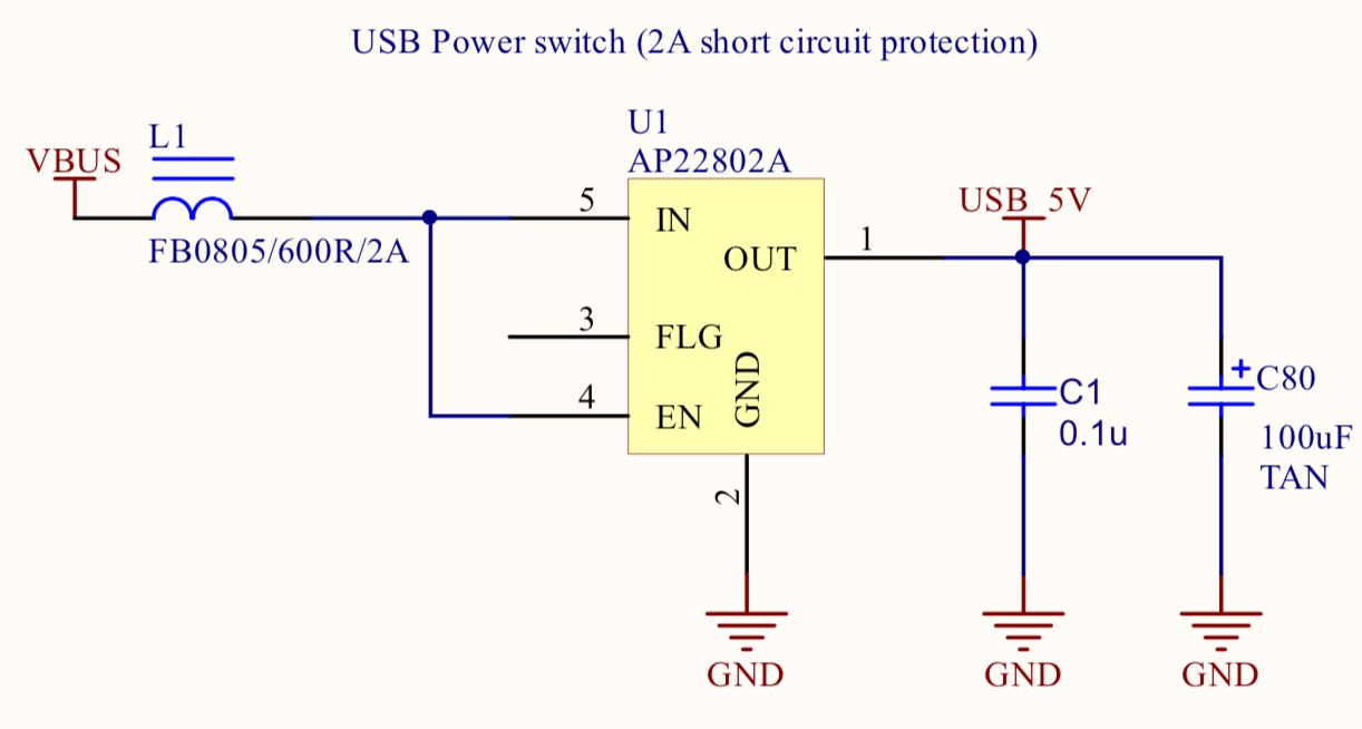 hight resolution of  which provides an over load current protection when the current reaches 2a limits the current to 1a until the short circuit state is resolved