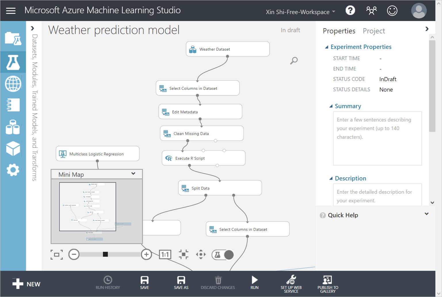 Weather Forecast Using Azure Machine Learning With Iot Hub