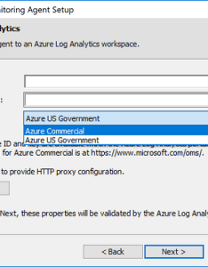 Paste workspace id and primary key also configure azure log analytics agent for hybrid windows computer rh docs microsoft