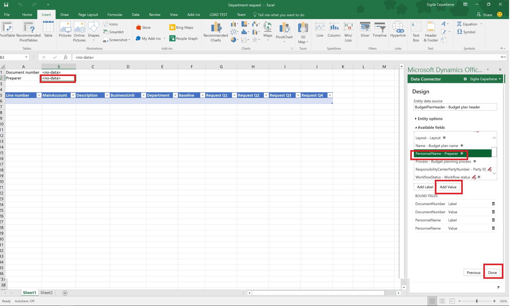 Budget Planning Templates For Excel