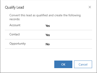 Qualify or convert leads (Dynamics 365 Sales) | Microsoft Docs