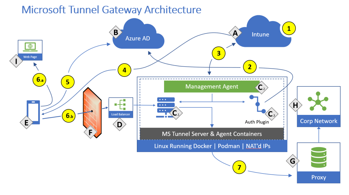 Use the Microsoft Tunnel VPN solution for Microsoft Intune - Azure |  Microsoft Docs