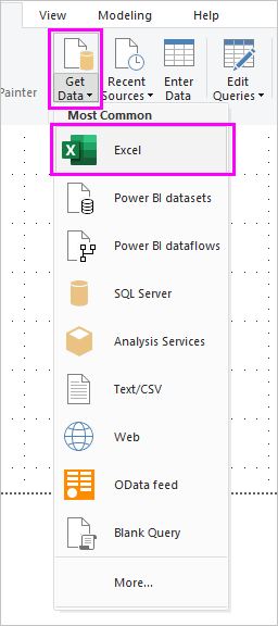 Tutorial: Combine data from Excel and an OData feed in