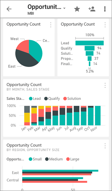 Get started with the Power BI mobile app on Android devices - Power ...