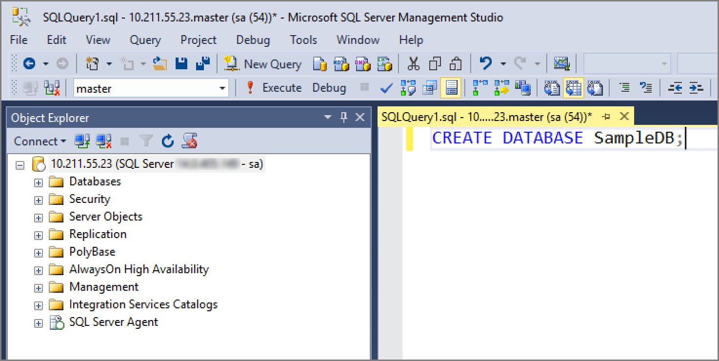 Create and run jobs for SQL Server on Linux  Microsoft Docs