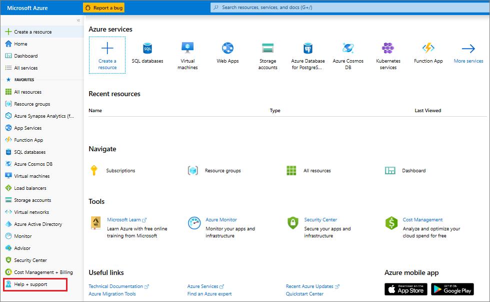 Comment créer un ticket de support | Microsoft Docs