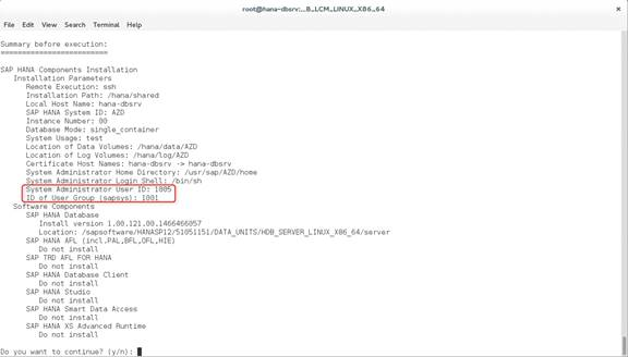 Avvio rapido: Installazione manuale di SAP HANA a istanza