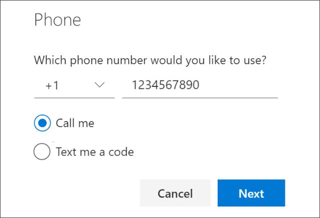 電話番號を検証方法として設定する - Azure AD | Microsoft Docs