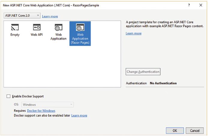 ASP.NET Core - 具有 Razor 頁面之更簡易的 ASP.NET MVC 應用程式   Microsoft Docs