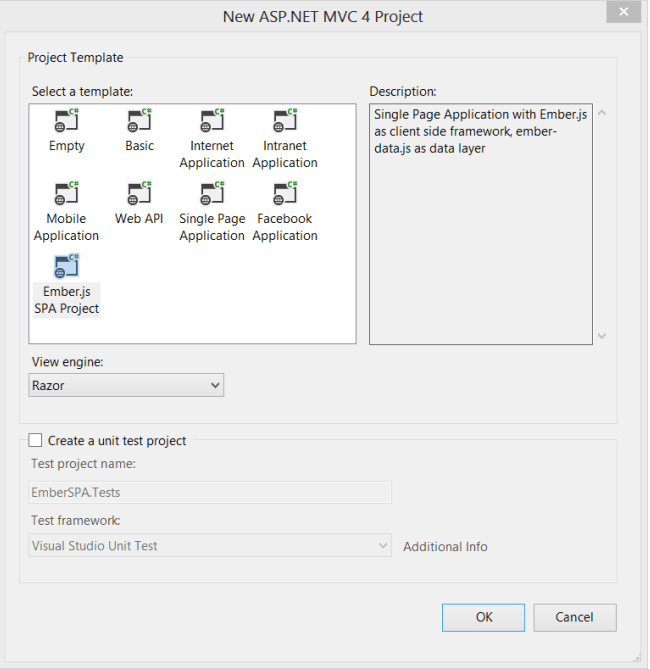EmberJS 範本   Microsoft Docs