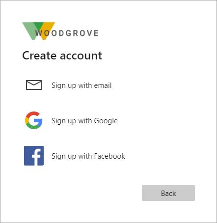 適用於外部身分識別的自助式註冊 - Azure AD | Microsoft Docs