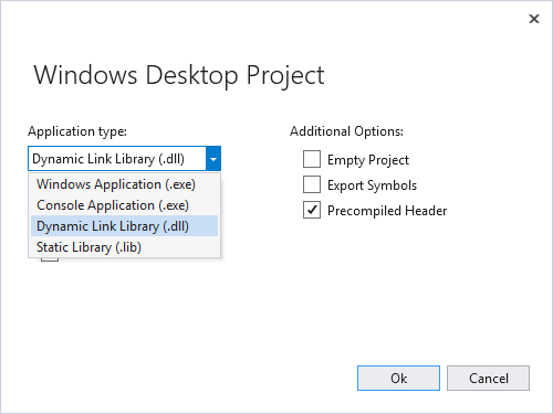 mathlibrary desktop project wizard dll - [筆記]如何使用C/C++編寫DLL或so供Python呼叫