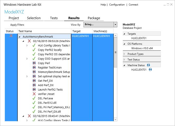 步驟 7 的檢視測試結果和記錄檔 | Microsoft Docs