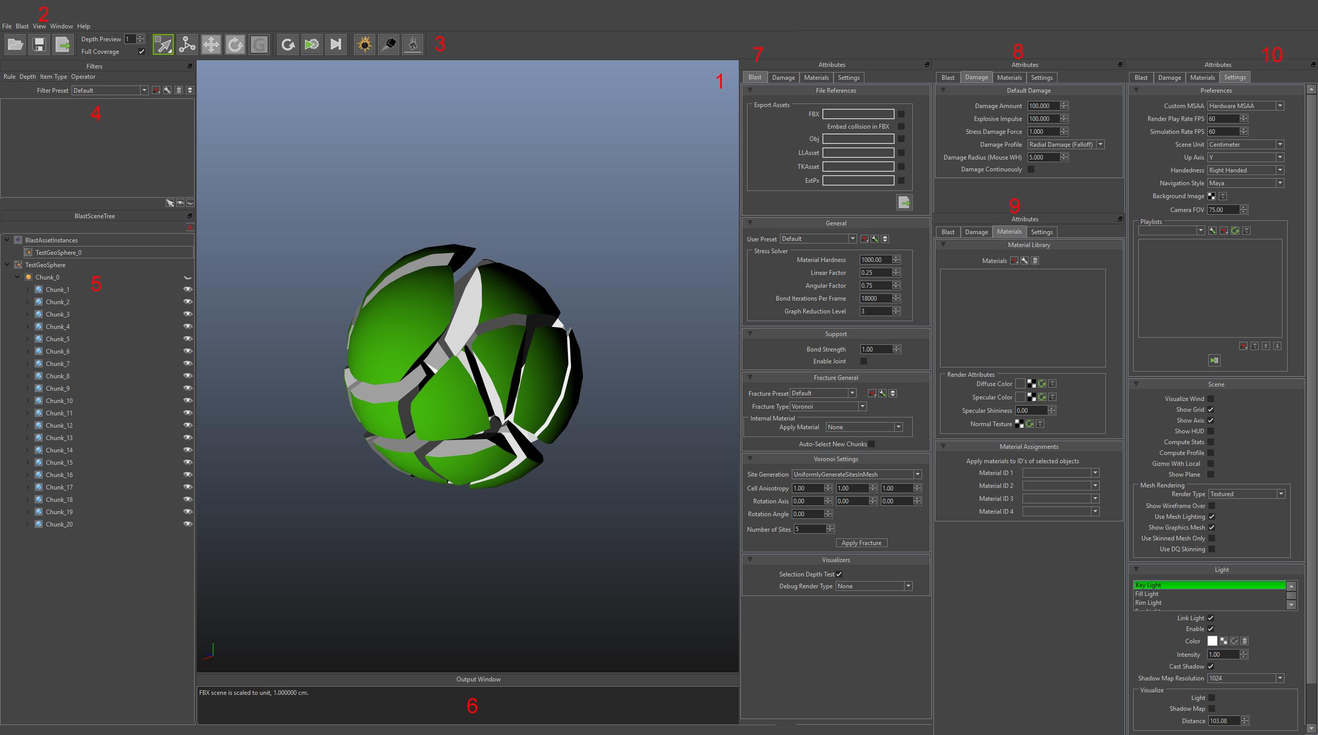 Blast Authoring Tool Editor  Blast Artist Tools 10 documentation