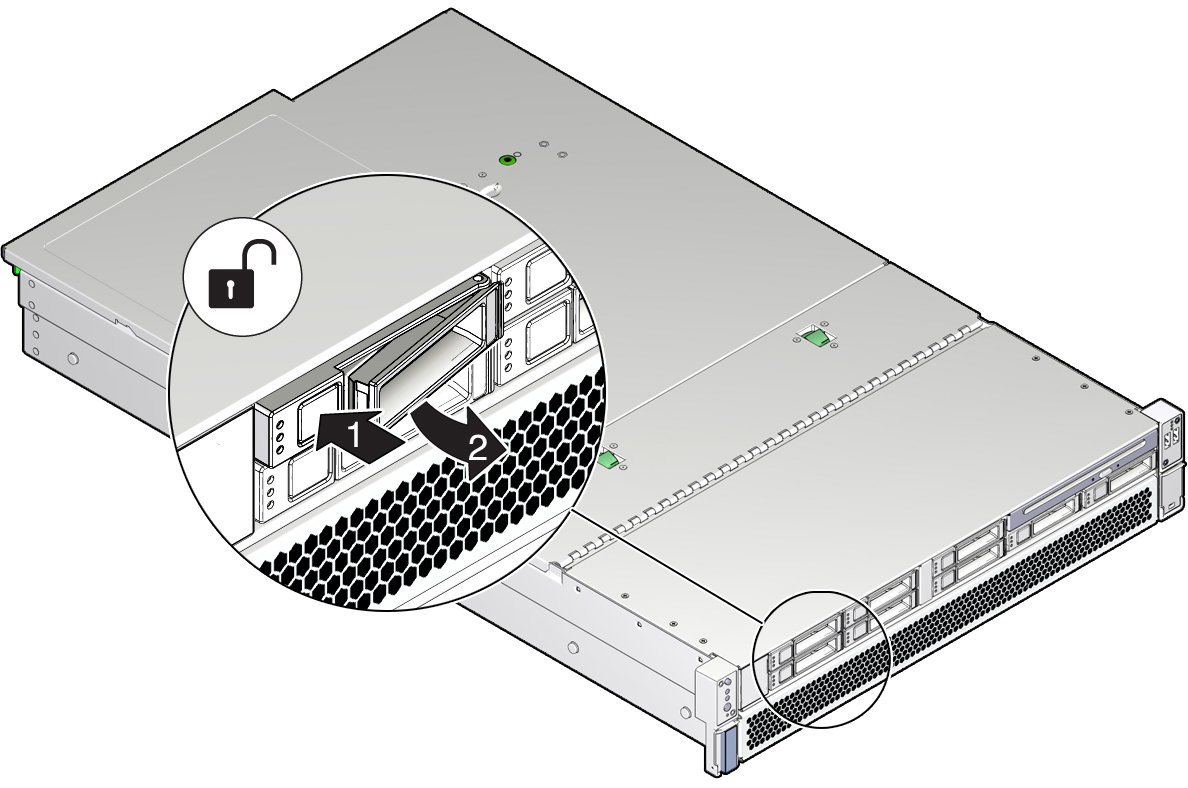 hight resolution of image figure showing the location of the storage drive release button and latch