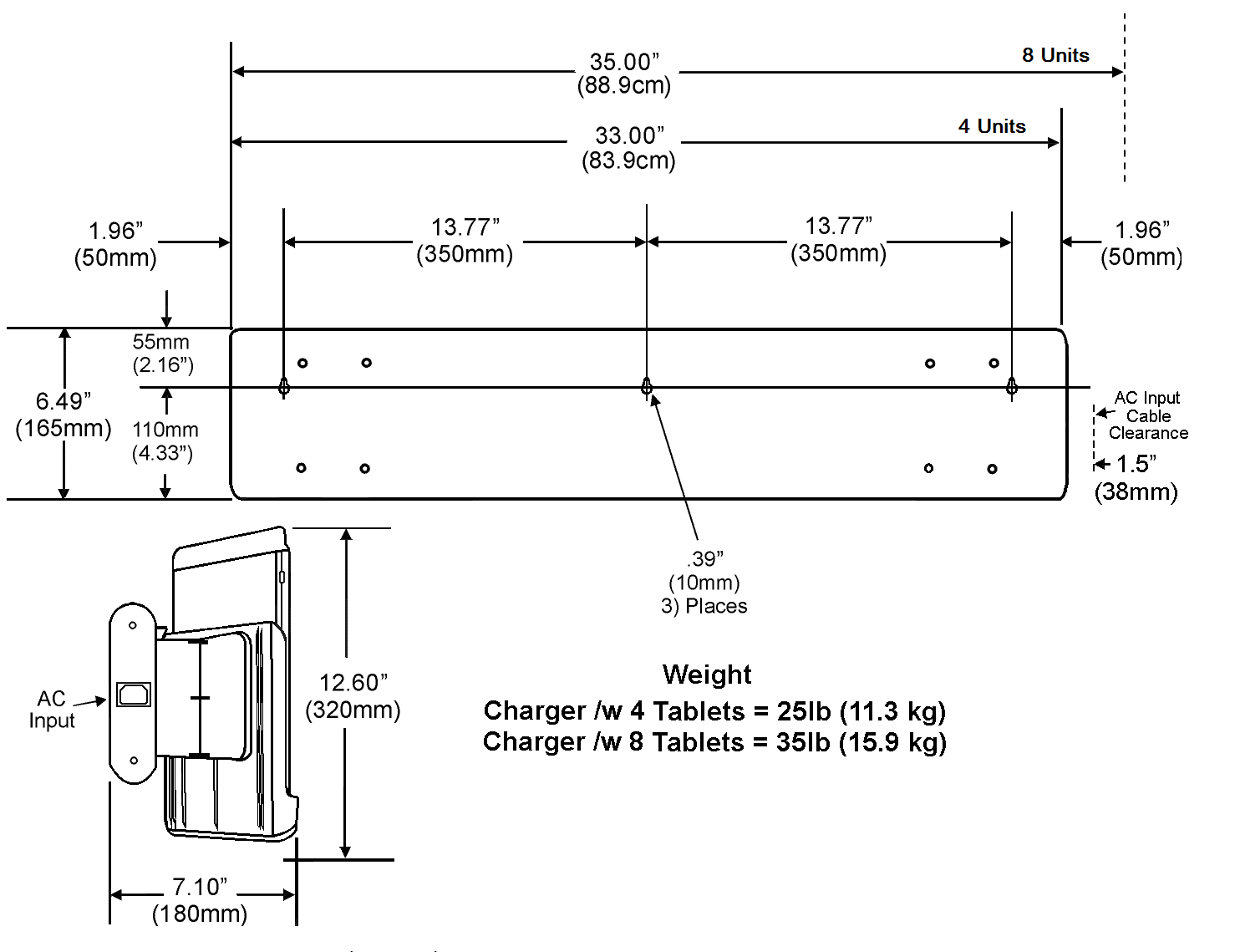 hight resolution of wall charger diagram
