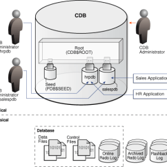 Oracle Database 11g Architecture Diagram With Explanation Wiring For Rv Plug Introduction To The Multitenant About User Interfaces
