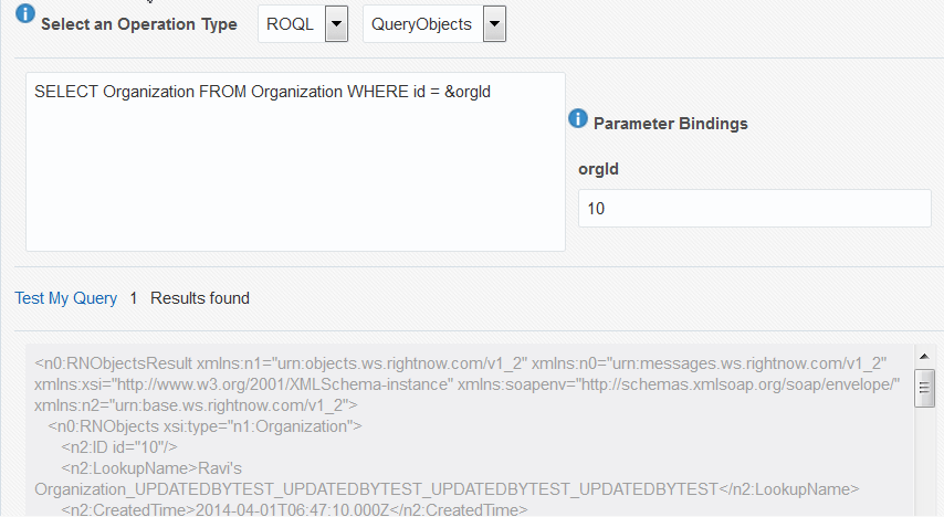 3 Walkthrough of the Oracle RightNow Adapter Configuration
