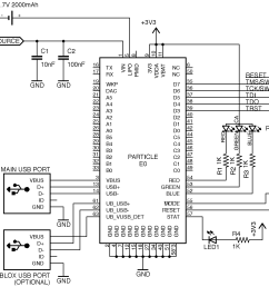 you can also take a look at the schematic and board files of the e series evaluation kit as a reference design available here  [ 2392 x 1732 Pixel ]