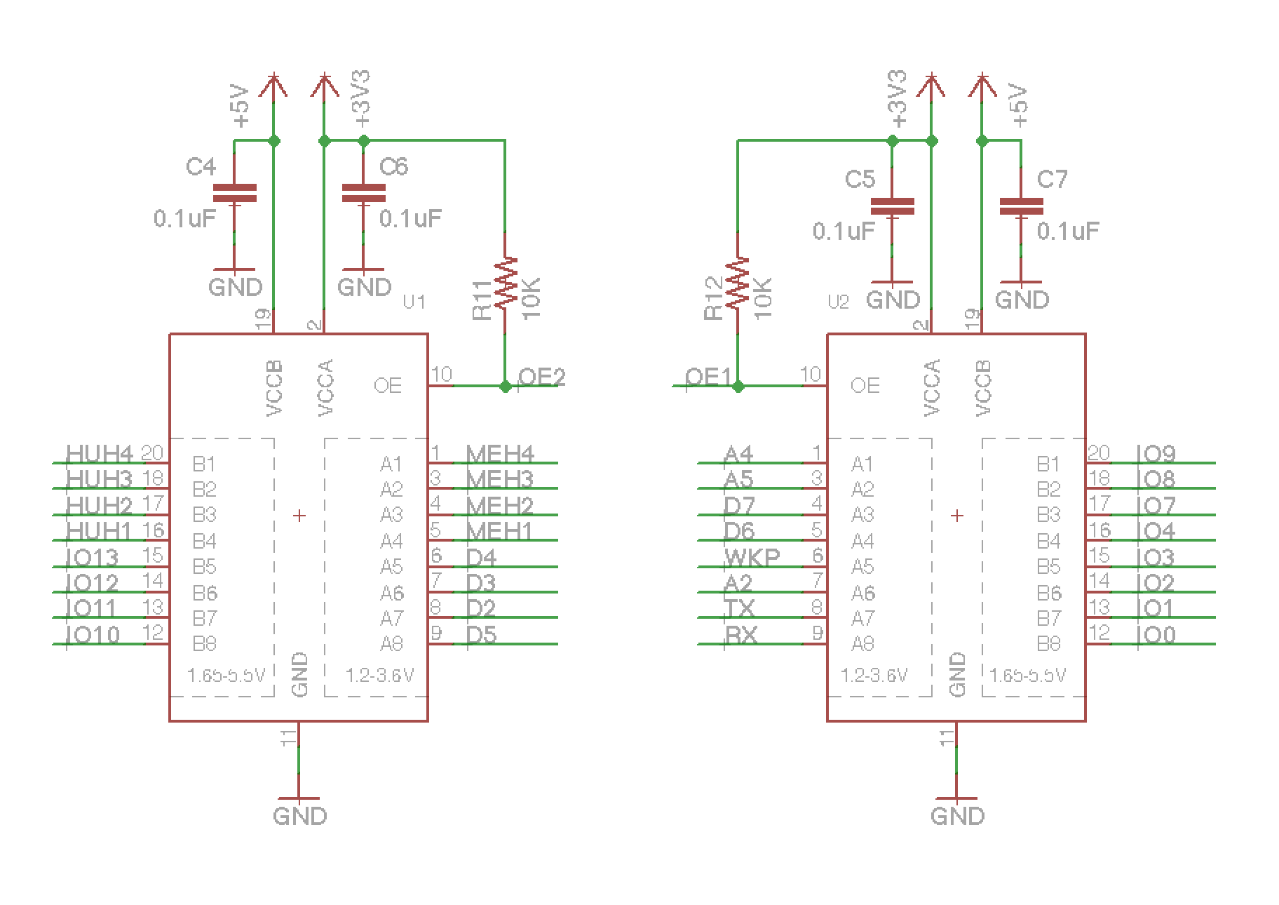 hight resolution of shield shield schematic txb0108pwr