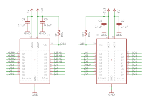 small resolution of shield shield schematic txb0108pwr