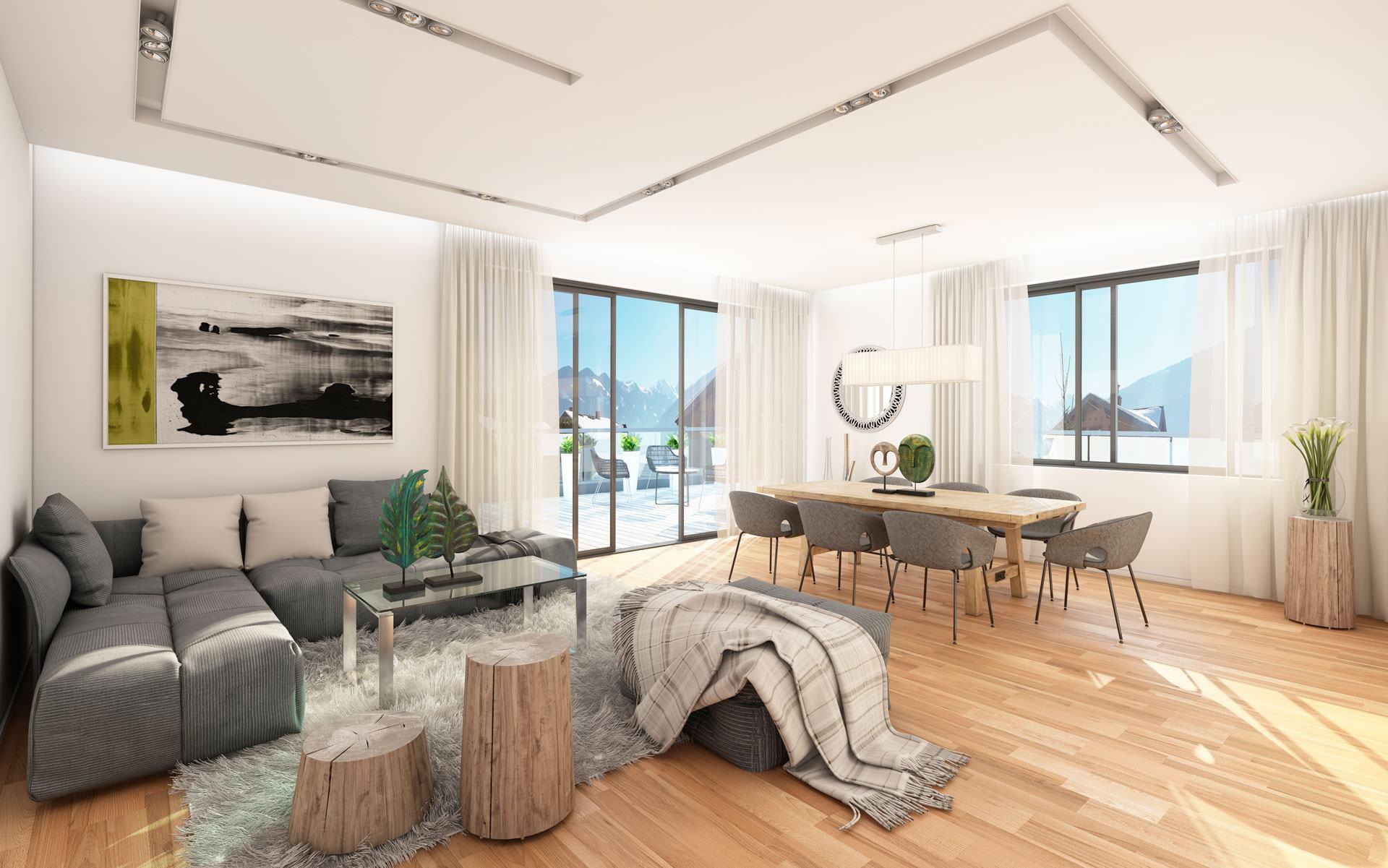 comment meubler un grand salon majordome eclairage par. Black Bedroom Furniture Sets. Home Design Ideas